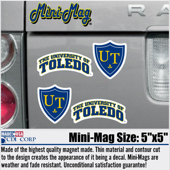 University of Toledo Color Shock Magnet 4-Pack