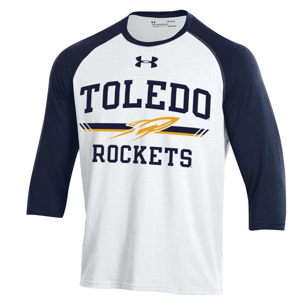 University of Toledo Under Armour Charged Cotton Baseball Tee