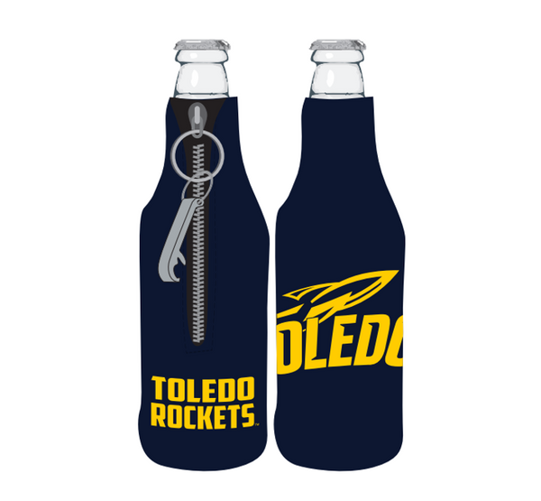 University of Toledo Bottle Koozie W/ Opener
