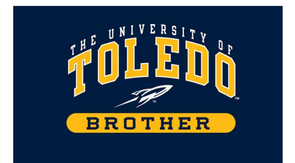 University of Toledo Youth Brother Short Sleeve Tee