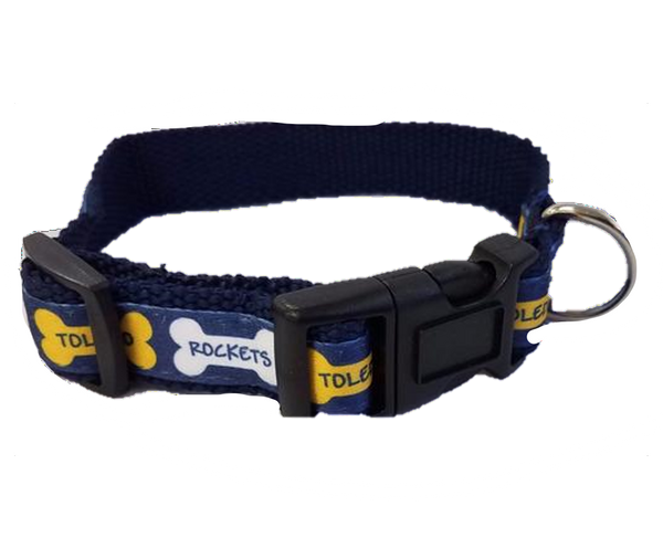 University of Toledo Sublimated Pet Collar With Webbing