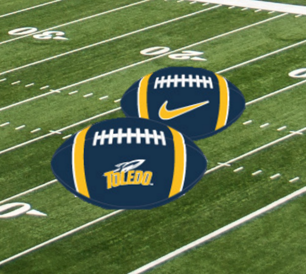 University of Toledo Rockets Nike Mini Football