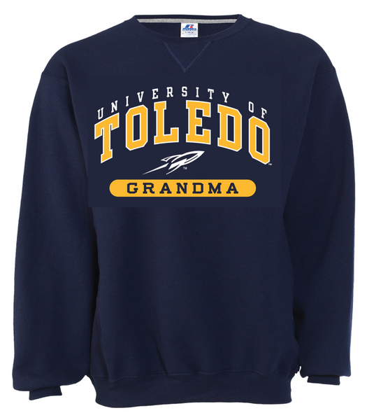 University of Toledo Grandma Crew Neck Sweatshirt