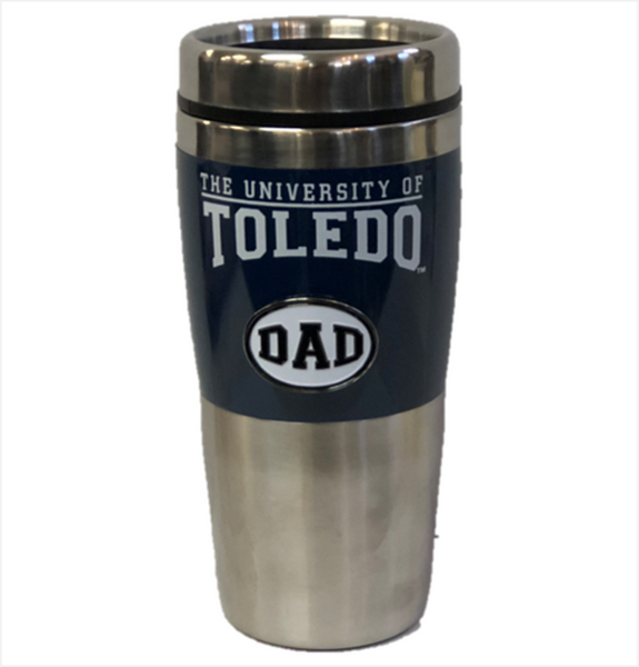 University of Toledo Dad Medallion Travel Mug