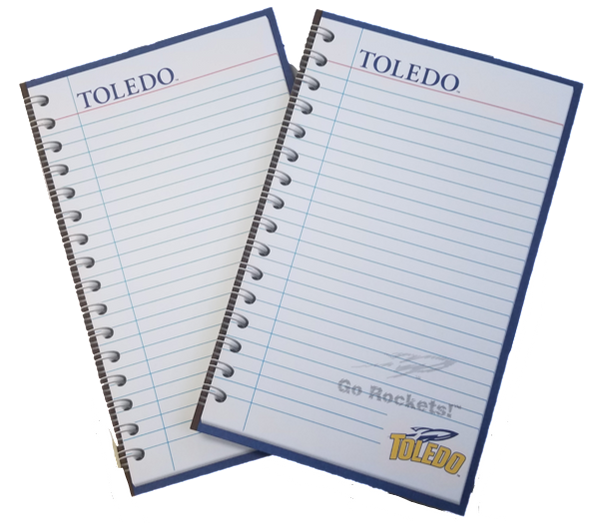 University of Toledo GO ROCKETS Memo Pad 2pk