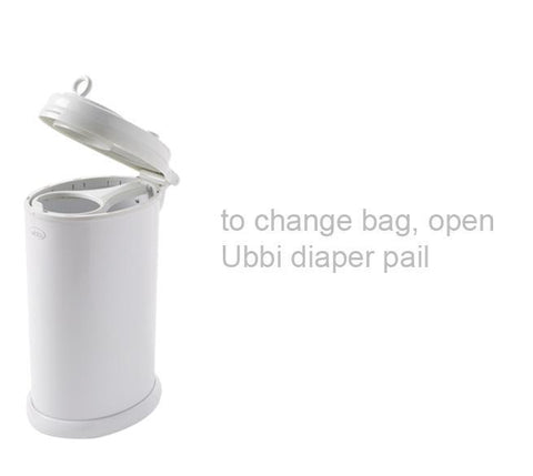 Ubbi Nappy Bin How to Use