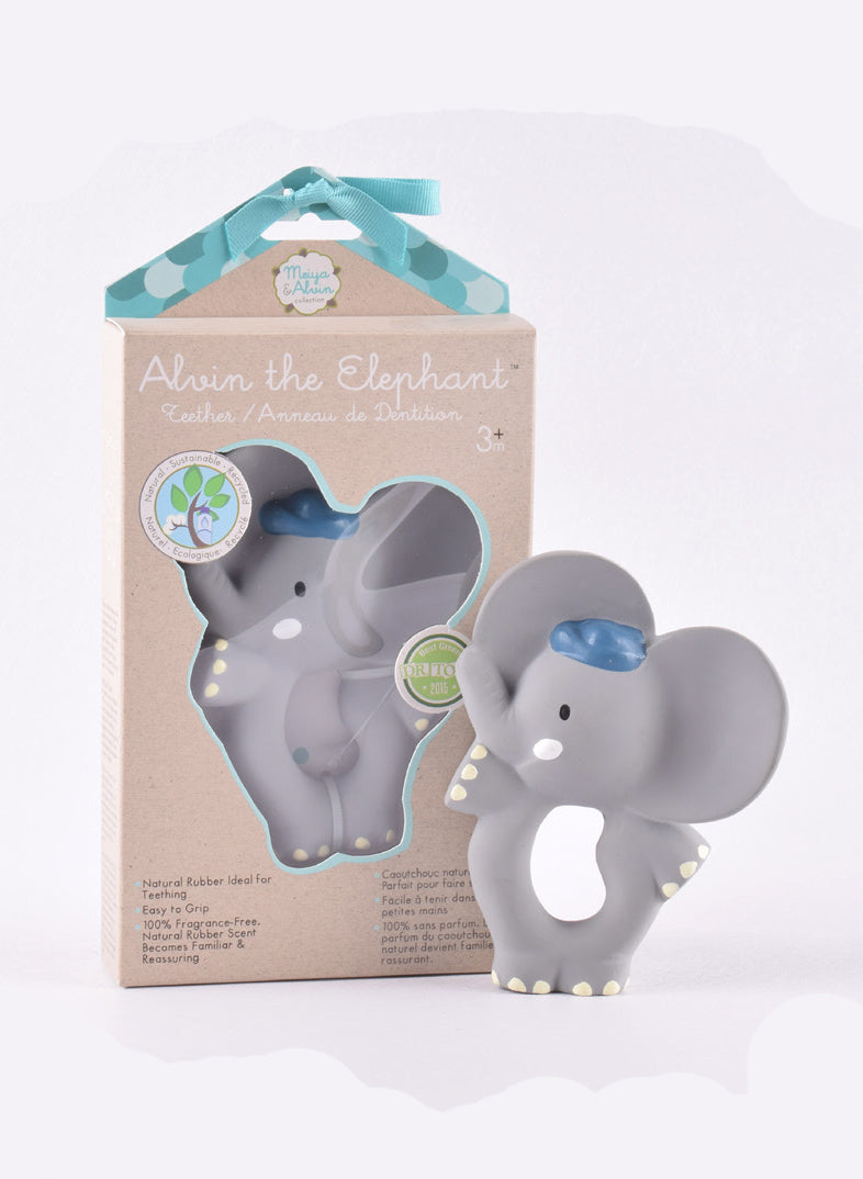 Alvin the Elephant Teether Toy