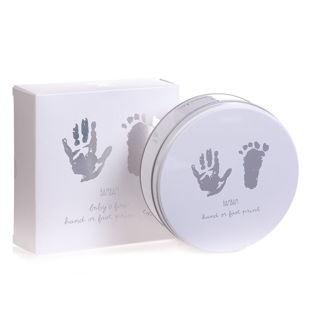 Bambam Baby S First Hand Footprint Plaster Kit The