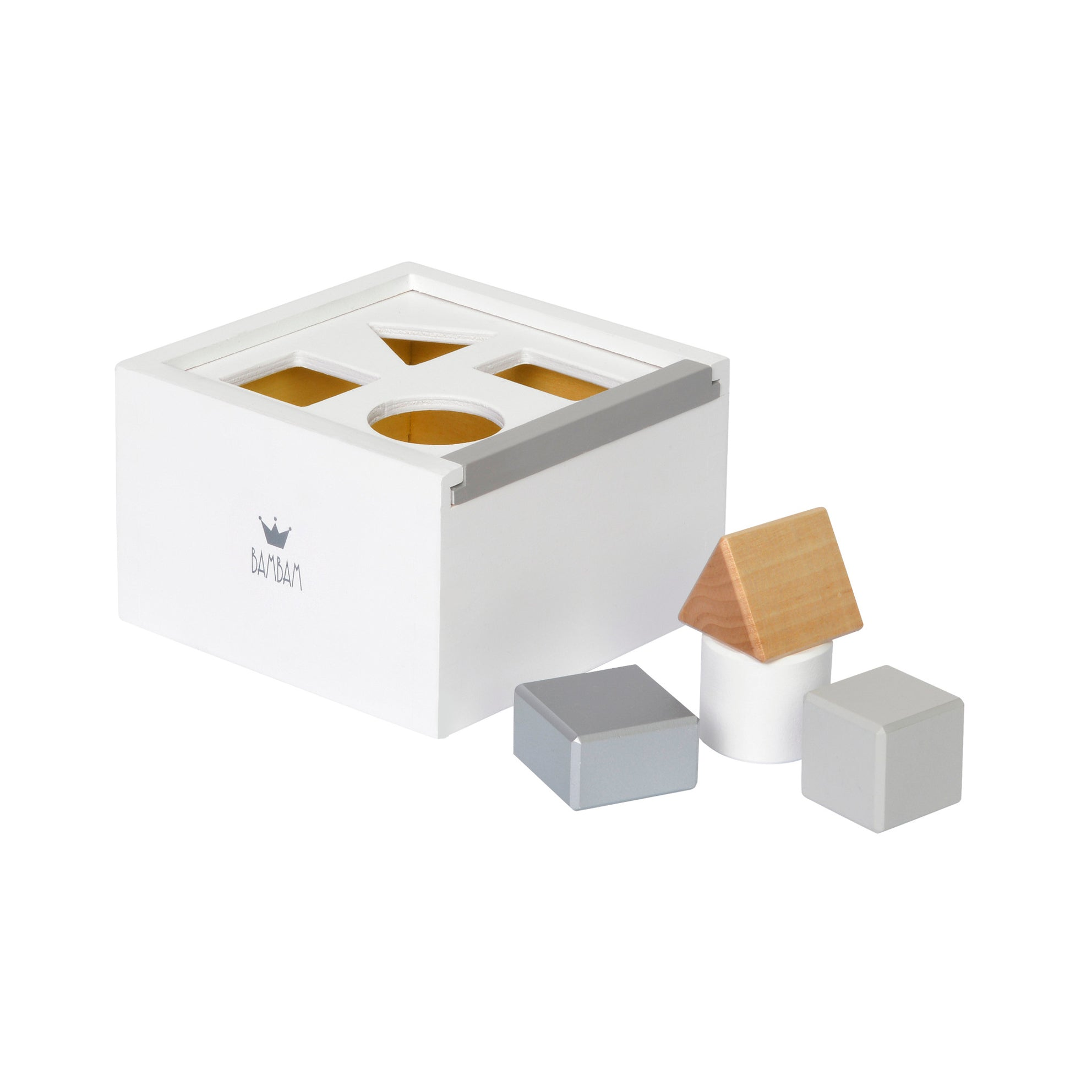 BAMBAM 'Shape Sorter' Block Box