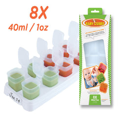 Baby Cubes Food Storage Containers