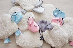 Bubs for Babes Baby Comforter Baa-Baa Snuggling