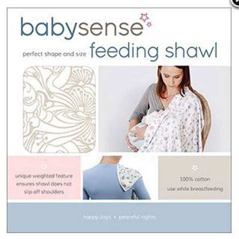Baby Sense Feeding Shawl - Neutral