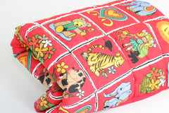 Y'Omi Play Blanket - Retro Red 49
