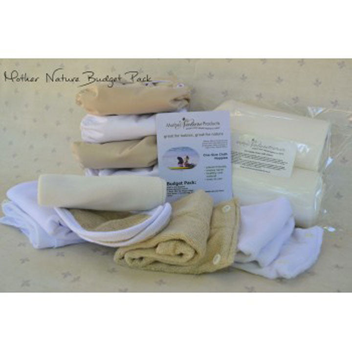 Mother Nature Nappies Budget Pack - AI3