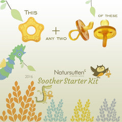Natursutten Natural Soother Starter Kit