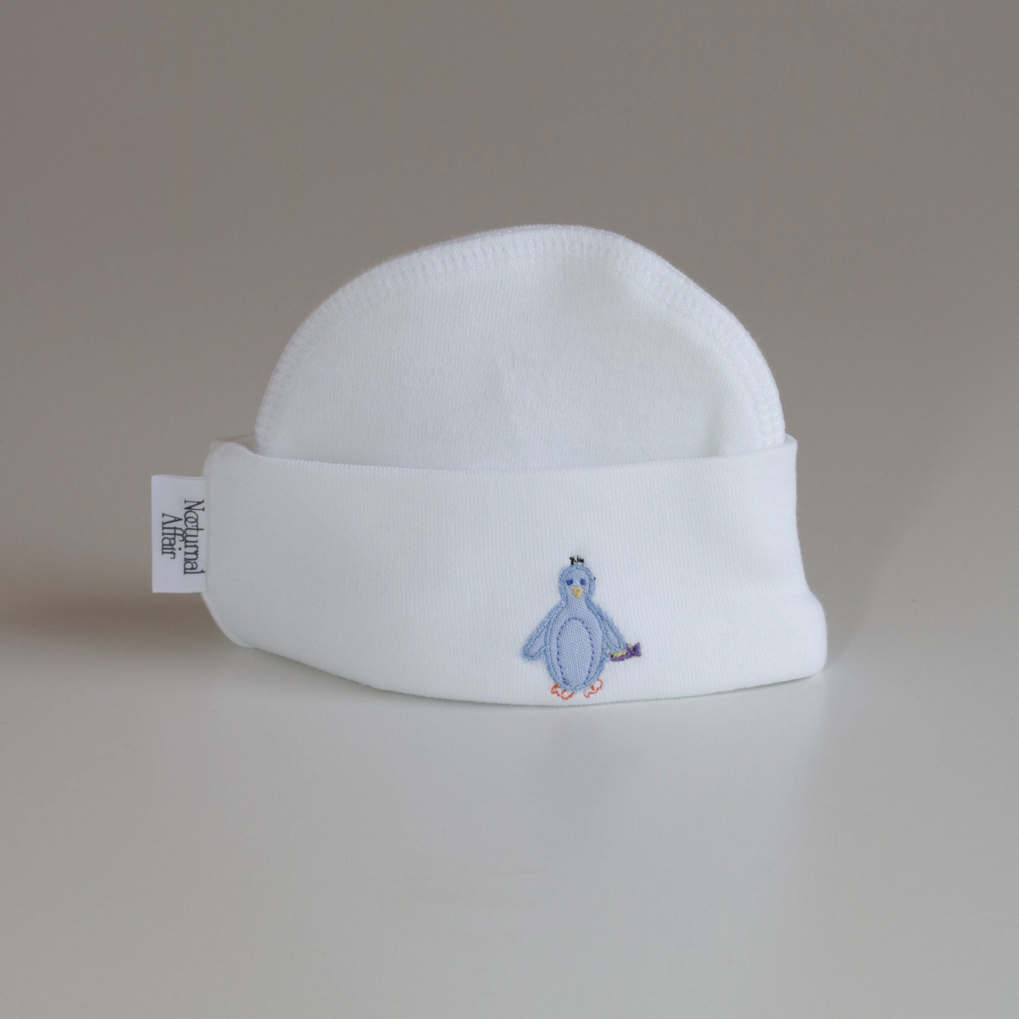 Nocturnal Affair Stitched Beanie - Penguin