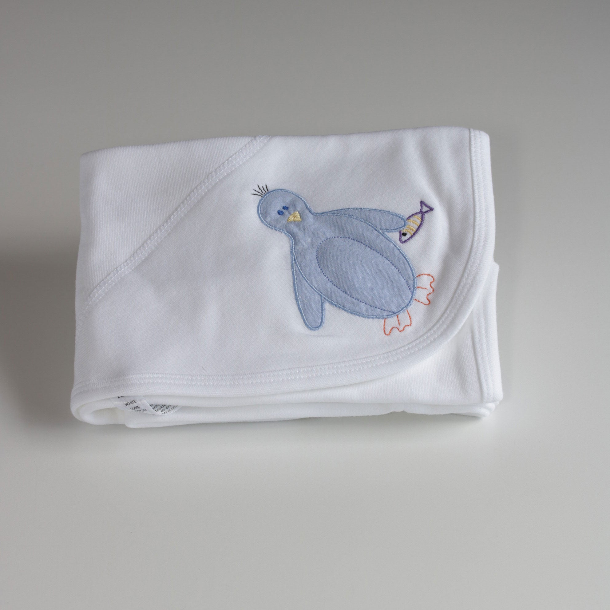 Nocturnal Affair Swaddle Blanket - Penguin