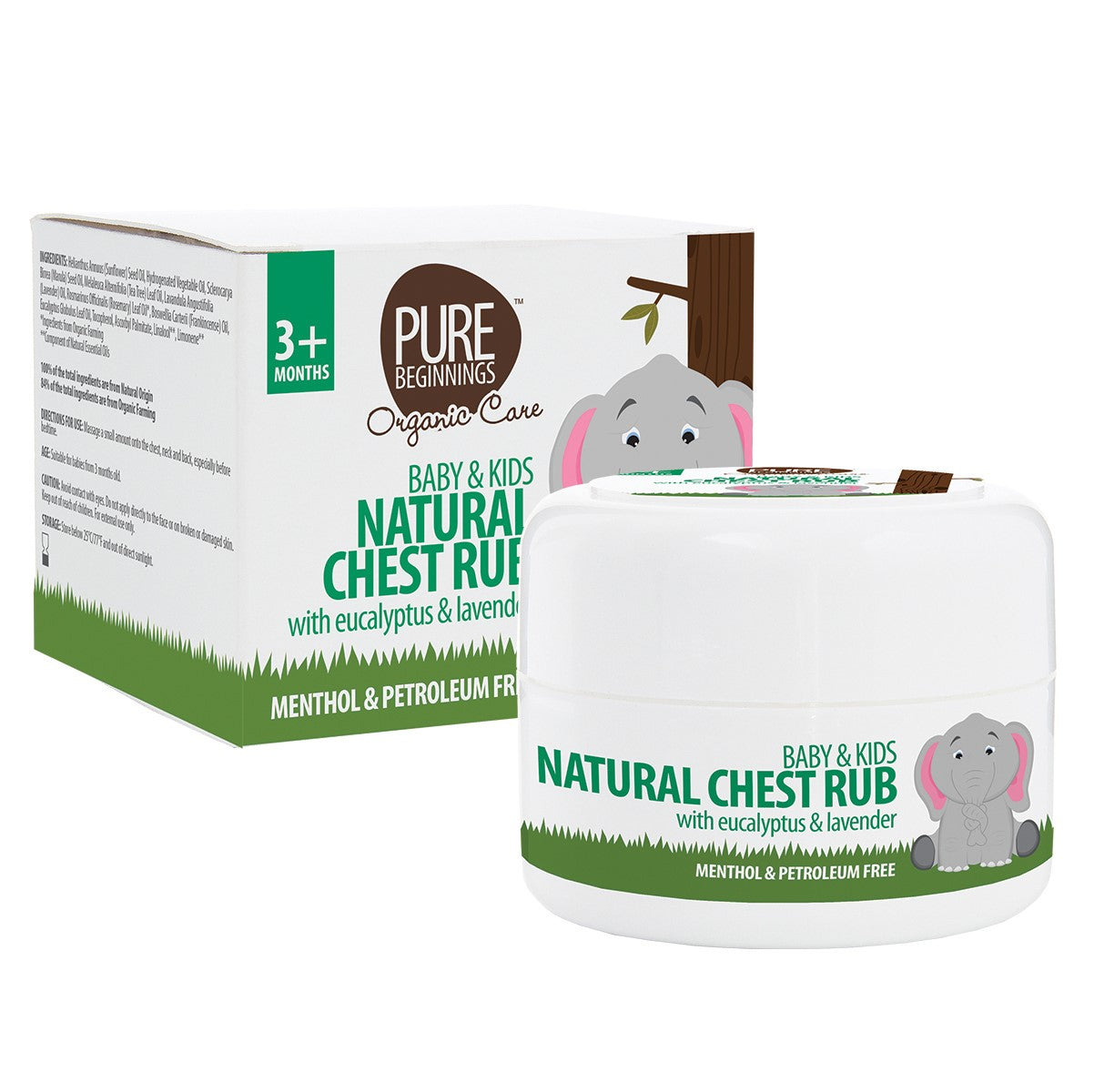 Pure Beginnings Natural Chest Rub