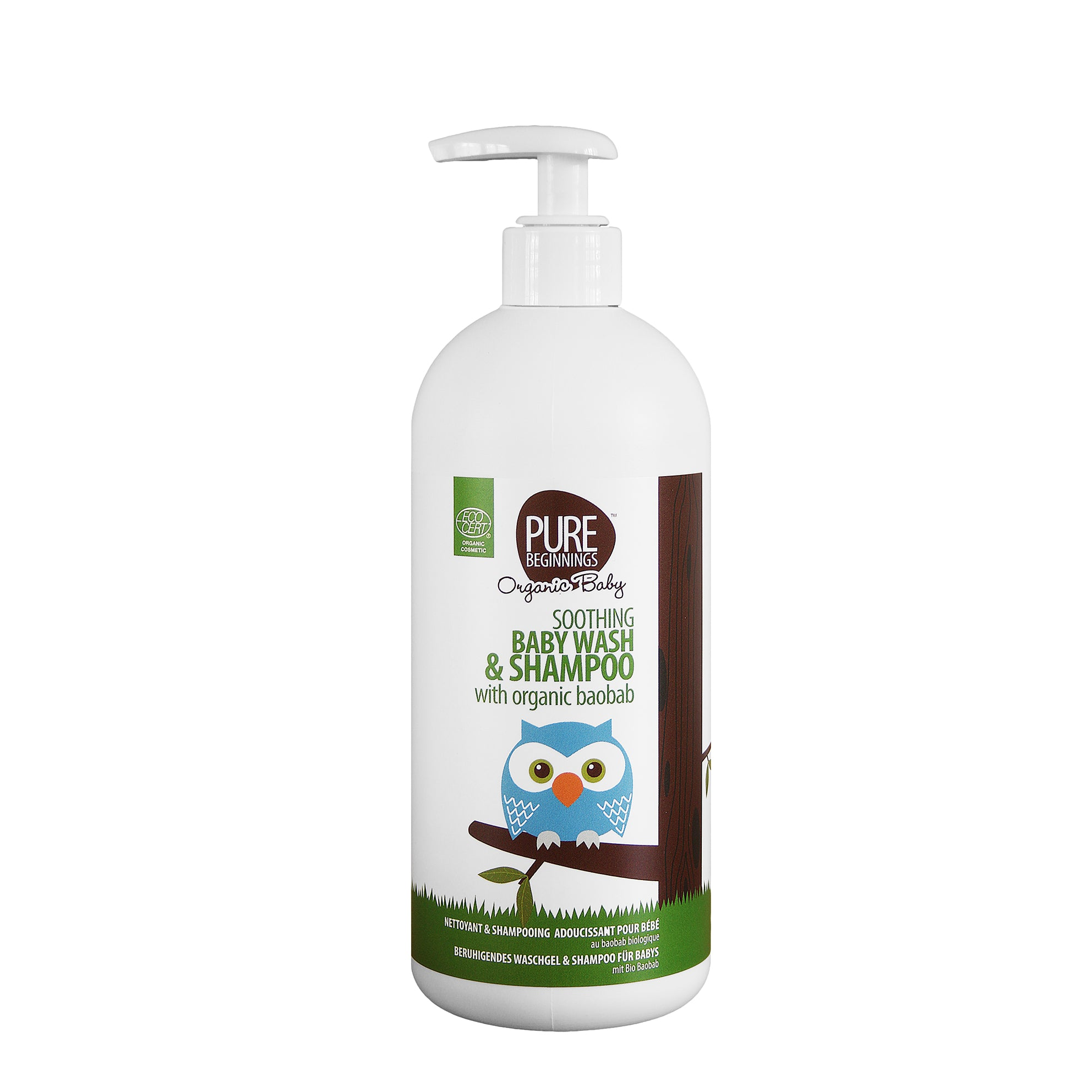Pure Beginnings Baby Shampoo & Body Wash (500ml)