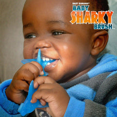 Baby Banana Sharky Teether & Toothbrush