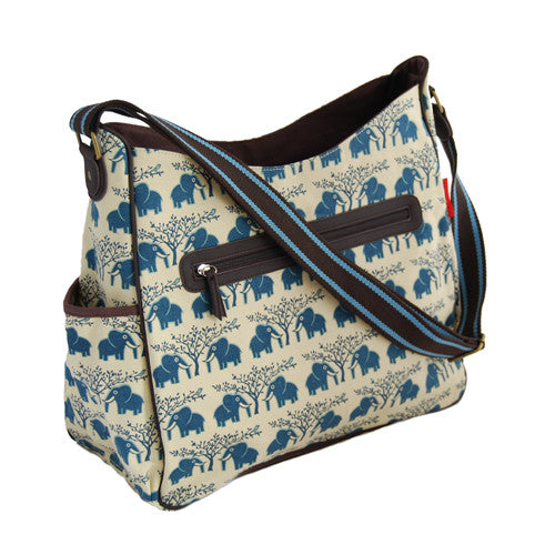 Tamelia Nappy Bag Blue Ellie
