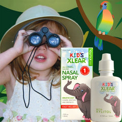 XLEAR Kids All-Natural Nasal Spray