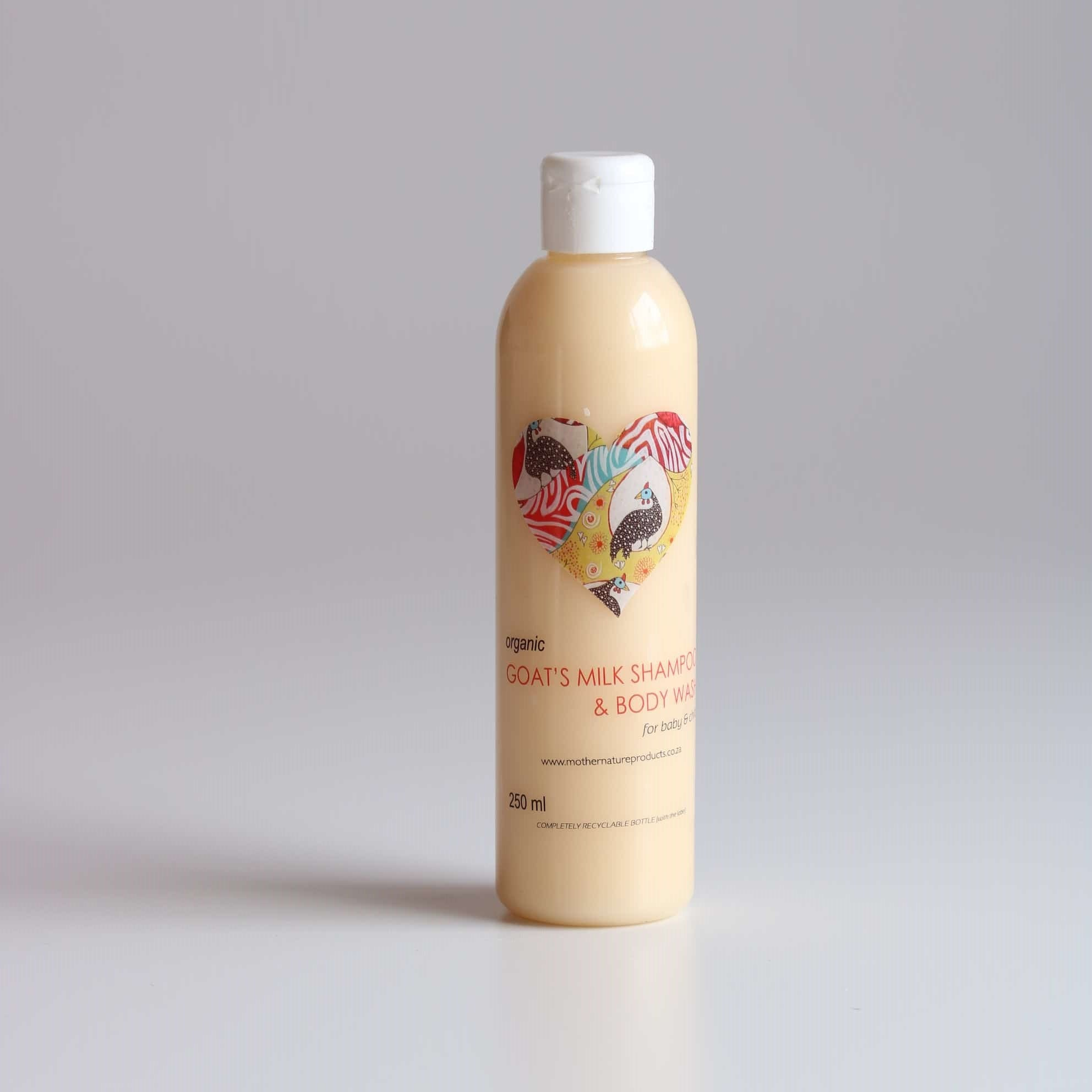 Organic Goats Milk Shampoo & Body Wash