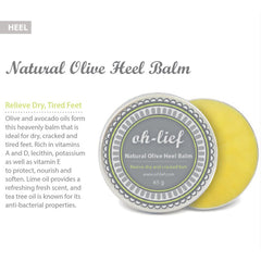 Oh Lief Natural Olive Heel Balm
