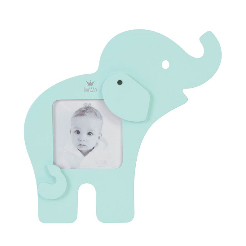 BAMBAM Elephant Picture Frame - Lagoon