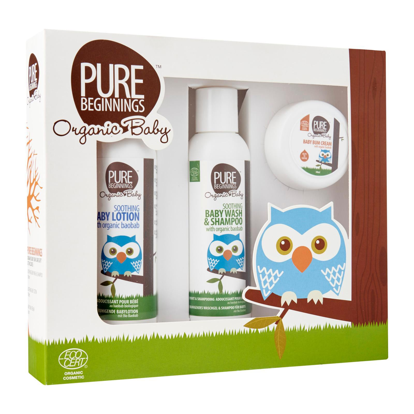 Pure Beginnings Baby Gift Set