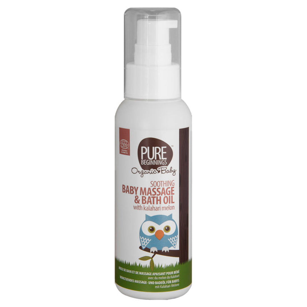 Pure Beginnings Soothing Baby Massage & Bath Oil
