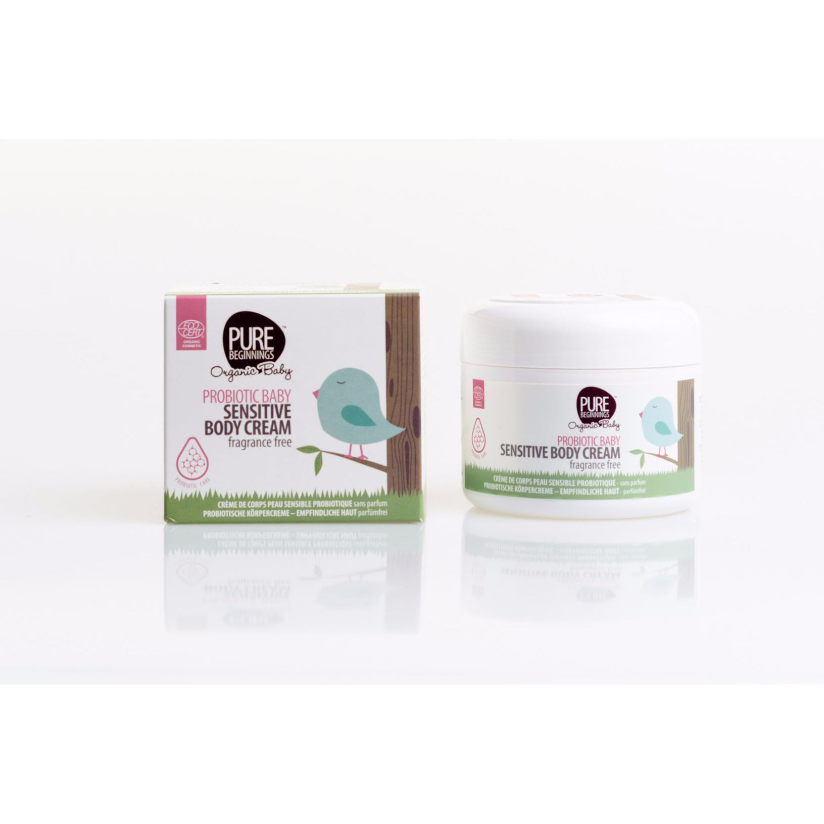 Pure Beginnings Probiotic Baby Sensitive Body Cream 250ml