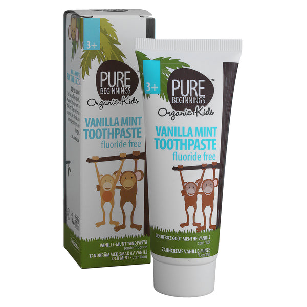 Pure Beginnings Vanilla Mint Toothpaste