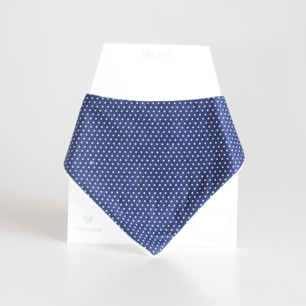 Sohan Bib - Navy Pincushion