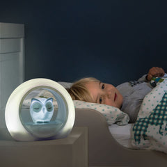 Lou the Owl Nightlight - Grey