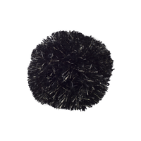 Pompon Black/Gold Lurex
