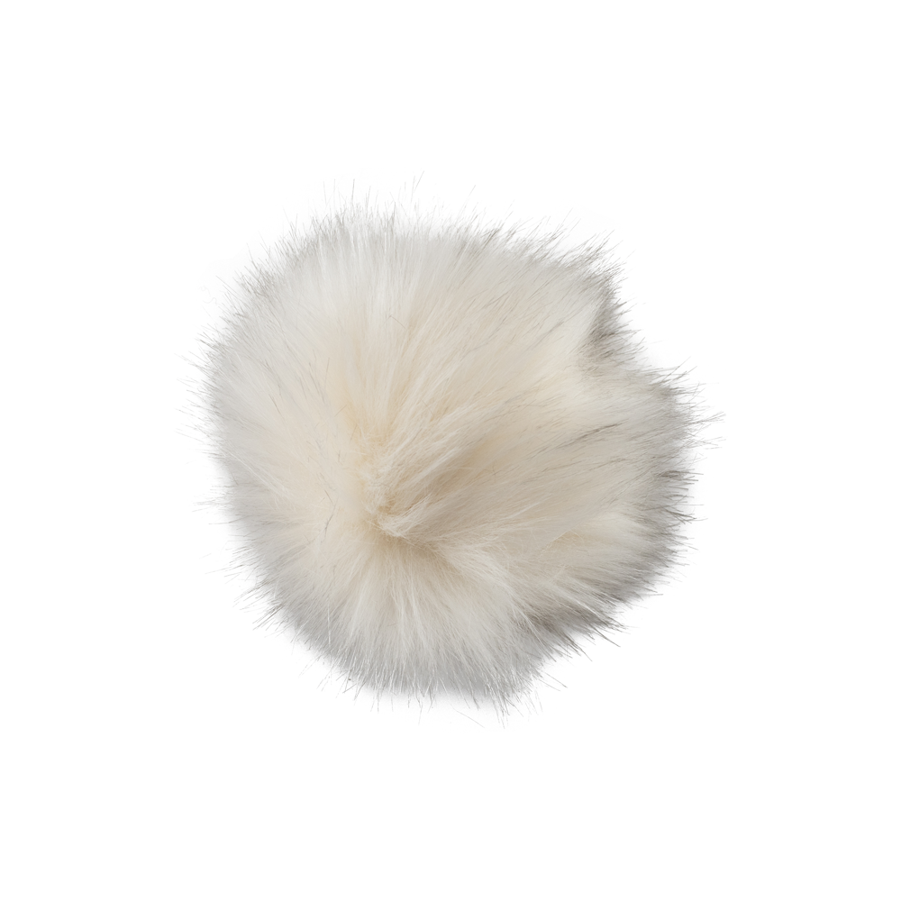 Pompon Cream Fur