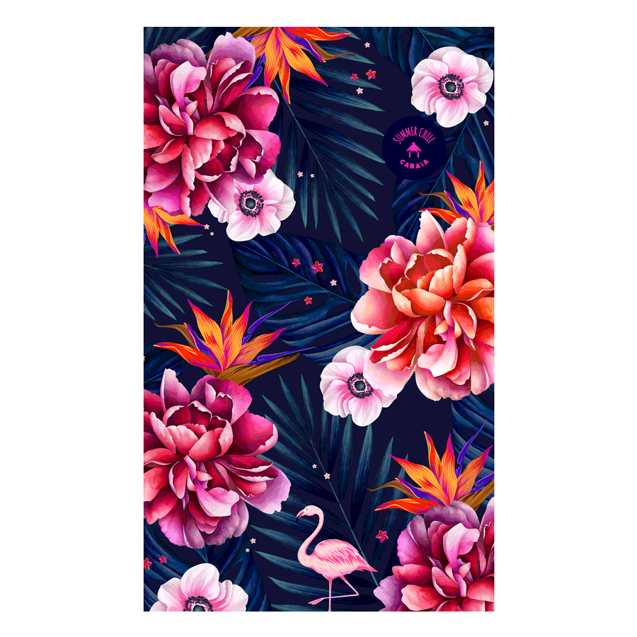 NEW - Serviette rectangulaire - Papeete