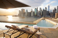 NYC Brooklyn Bridge Hotel rooftop pool