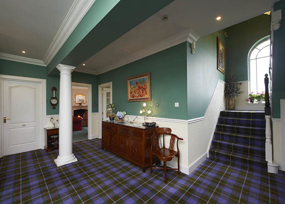 scottish tartan carpet