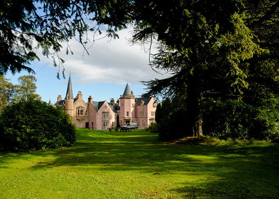 Bunchrew House Hotel Scottish Mansion in the Highlands.