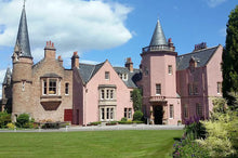 20 acres of beautiful grounds at Bunchrew luxury hotel