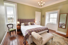 Luxury tweed suite at Cardhu House