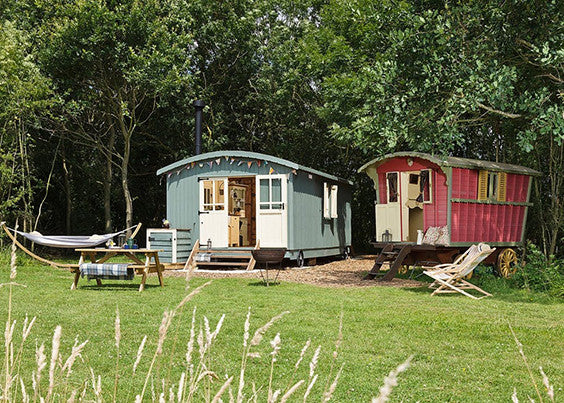 glamping accommodation in Suffolk