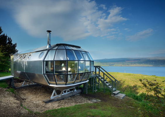 airship 2 Highlands Drimnin glamping dog friendly