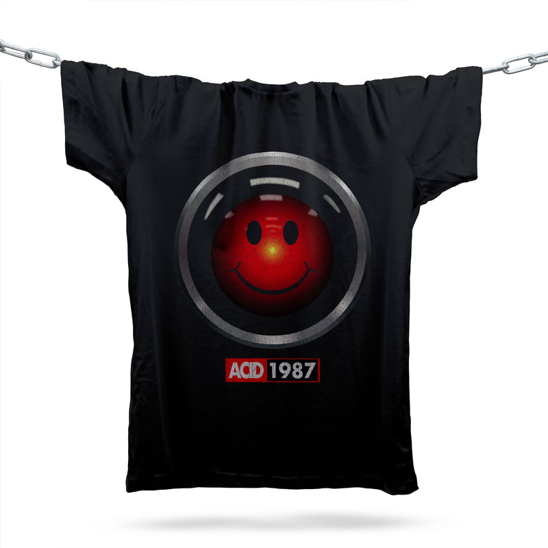 HAL 1987 T-Shirt / Black - Future Past Clothing
