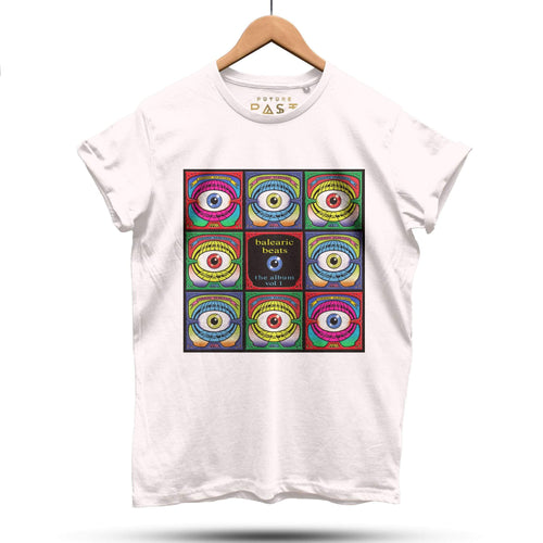 Super Limited Balearic Beats Dave Little T-Shirt / Cream - Future Past Clothing