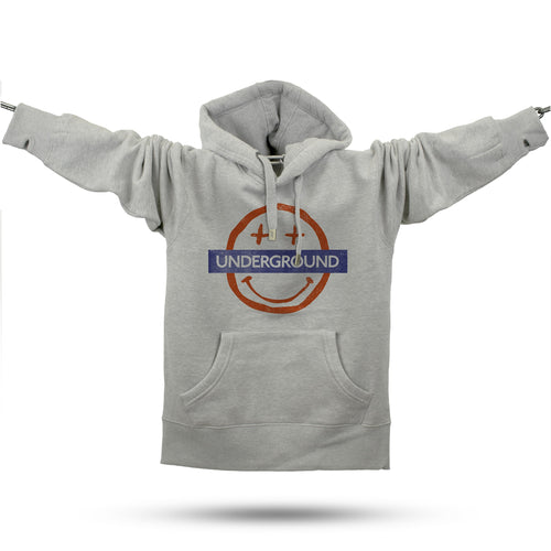 Smiler Underground Premium Hoodie - Future Past Clothing