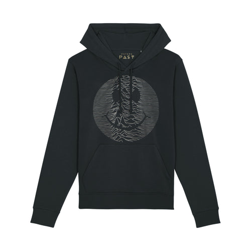 Techno Pulsar Hoodie / Black - Future Past Clothing