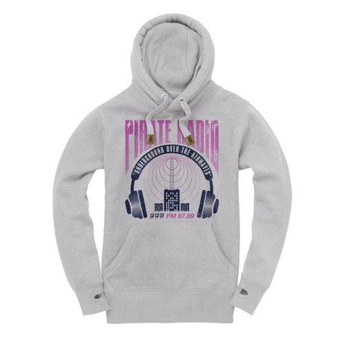 Pirate Radio Heavyweight Hoodie - Future Past Clothing